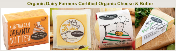 Organic Dairy Farmers Organic Butter and Cheese